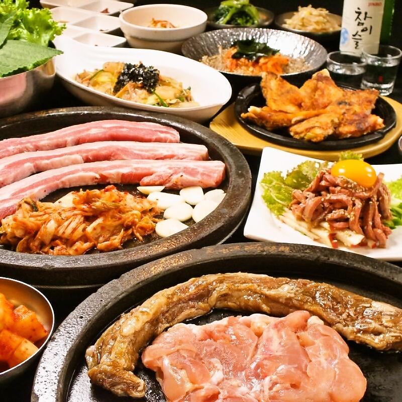 チーズタッカルビコース【10品】飲み放題込
